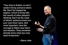 Steve Jobs, Sichtart, Intuition